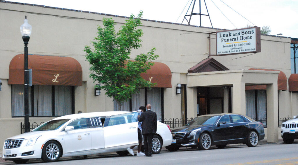 leak and sons funeral home